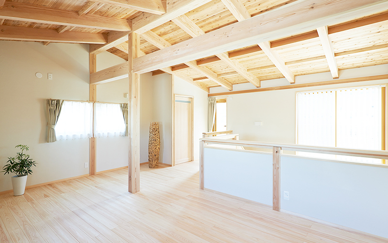 自然素材木造住宅